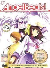 DVD Angel Beats Vol.1-13 End + OVA ( English Dubbed )+ Bonus Anime