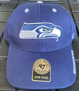 NWT Seattle Seahawks 47 Brand Adjustable Dad Hat Cap NFL Forty Seven