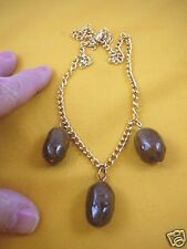 (PP15-1) Real MOOSE POOP doo doo turd turds nugget NECKLACE jewelry - WEIRD what