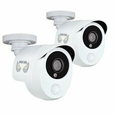 Night Owl CAM-2PK-PIR10W 2 Megapixel Surveillance Camera - 2 Pack - Color