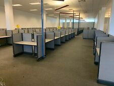 Unbranded Cubicle Set Desk Tops and Dividers, Large Office Space Free Shipping!!