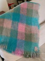 Home Of Wordsworth By Chris Reekie & Sons Mohair Wool Blanket Throw Vintage