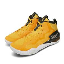 Asics Nova Surge Saffron Yellow Grey Hi-Top Men Basketball Shoes 1061A027-750
