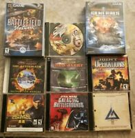 Lot of pc games Command & Conquer, Star Wars , Star Ship Troopers UNTESTED