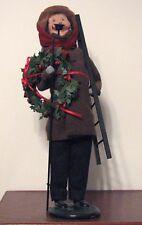 Byers Choice Christmas Caroler:  Gentleman Lamp Lighter, Mint Condition