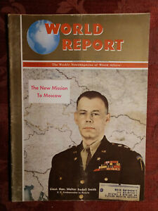 WORLD REPORT Magazine August 29 1946 Walter Bedell Smith Russia