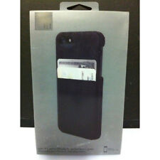 HEX Solo iPhone SE iPhone 5s iPhone 5 Wallet Leather Case w/Card Slots - Black