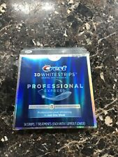 Crest 3D Whitestrips Professional Express 14 Strips 7 Treatments Exp. 2021 NEW