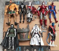 Marvel Legends Action Figures Lot Spider-Man Iron Man X-Men