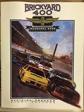 1994 Brickyard 400 Program (Inaugural Running of the Race)