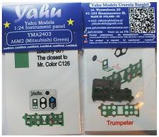 Yahu Models YMA2403 1/24 PE Mitsubishi A6M2 Zero Verde strumento panoramica