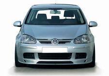 Per VW Golf MK 5 PARAURTI ANTERIORE SPOILER LIP Chin Valance Splitter Gonna di estensione
