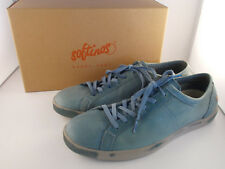 Softinos Tom Washed Diesel Blue Flex Leather Shoes Men's Size 12 US New In Box