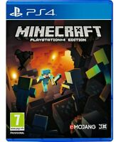 MINECRAFT  PS4 - PLAYSTATION  GAME  (BRAND NEW & SEALED)