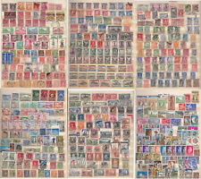 GREECE.1870-1940 A SPECIAL COLLECTION (6 FULL PAGES) OF EARLY STAMPS.