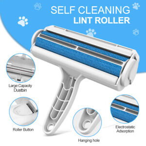 Fur Roller Sofa Clothes Cleaning Brush Pet Dog Cat Reusable Hair Lint Remover