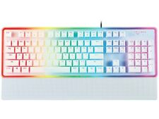 Rosewill NEON K51 Hybrid Mechanical RGB Gaming Keyboard/Multicolor Backlit White