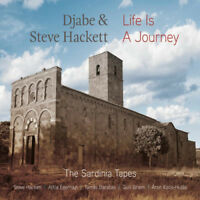 Djabe & Steve Hackett : Life Is a Journey: The Sardinia Tapes CD Album with DVD