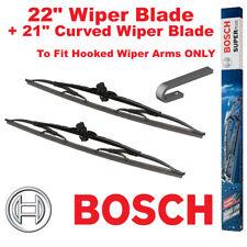 "Bosch Super Plus Front Wiper Blades 22"" SP22 and 21"" SP21JS Pair Windscreen"