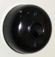 Period Bakelite Style 1/2 Way Dolly Light Switch