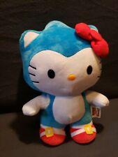 "Exclusive Toynami Super Sonic X Deluxe Hello Kitty Plush Sanrio 10"""