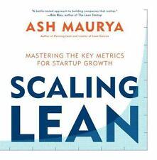 Ampliación lean: Mastering las métricas clave para el crecimiento de inicio por Ash Maurya..