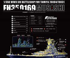 Flyhawk 1/350 350169 IJN Musashi for Tamiya