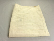 "Plain White Mudcloth Mud Cloth Fabric BogalonFini From Mali 45""x60"""