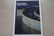 168255) BMW Motorrad - Touren Service - Prospekt 06/1991