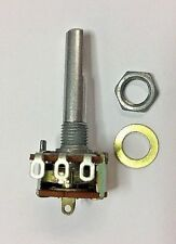 PC845 10K ohm-A audio taper 16mm potentiometer SPST on/off switch solder lugs