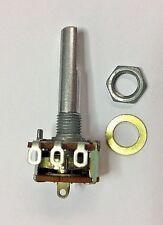 PC885 1Megohm-A = audio taper 16mm potentiometer SPST on/off switch solder lugs
