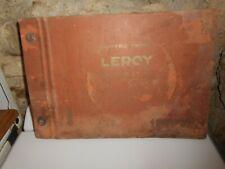 Ancien catalogue de papiers peints LEROY Décoration 1951/1952