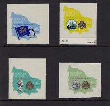 1978 NORFOLK ISLAND Girl Scouts & Girl Guides 1978 MNH
