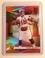 2020 Donruss Elite Football Tom Brady Buccaneers /88 Red Foil Jersey # Numbered