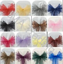 100 MIXED ORGANZA SASHES IDEAL FOR ARTS AND CRAFTS, DRESS MAKING BRAND NEW