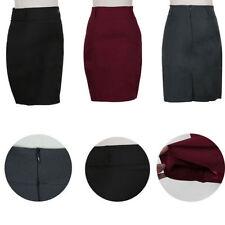 Polyester Unbranded Regular Knee-Length Skirts for Women