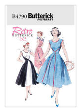 Butterick Sewing Pattern B4790 FF Retro Misses' Wrap Dress 1952 Uncut