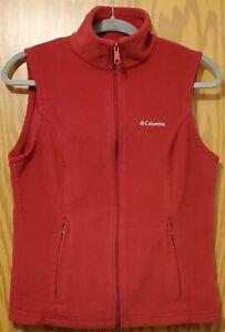 Columbia Women's Full Zip Fleece Vest ~ Size M medium