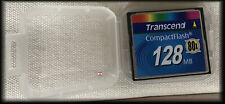 Transcend Compact Flash CF-Card 128MB (80x)