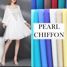 Chiffon Fabric Solid 100% Polyester 59