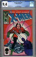Uncanny X-Men #182 CGC 9.4 NM Rogue Solo Story WHITE PAGES