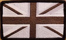 UK UNITED KINGDOM Flag Patch With VELCRO® Brand Fastener Morale Emblem I