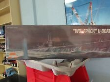"Aurora #716 German ""Wolfpack"" U-Boat, submarine,"