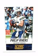 Philip Rivers 2014 Panini Score, Hot 100, Football Card !!