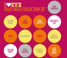 CD ZYX Italo Disco Collection 27 von Various Artists 3CDs