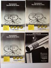LOT PUBLICITES ANNEES 80 SPECIAL REYNOLDS LE TUBE
