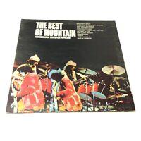'The Best Of Mountain' UK Island A1/B1 1973 Pressing Vinyl LP VG+/VG Clean Copy