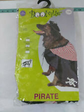 Pirate Swashbuckler Jack Sparrow Dog Pet Costumes Med 14-16 inches