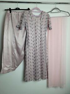 Pink Handmade Salwar Kameez Size Small 8 Partywear