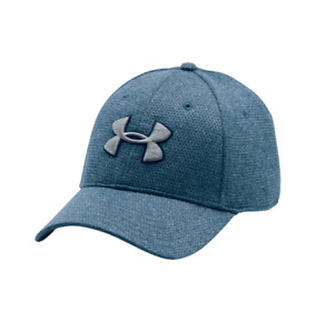 Under Armour UA 1283151 Mens Heathered Blitzing Cap BASEBALL HAT M/L BLUE 997